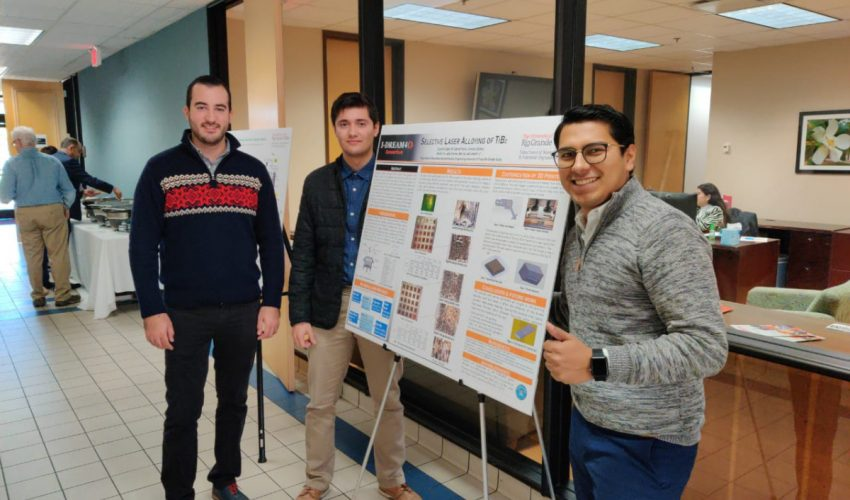 Brillante alumno de ISA expone proyecto de estadías  realizado en University of Texas Rio Grande Valley